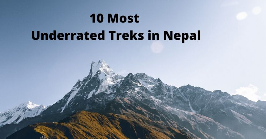 10 most underrated treks in Nepal