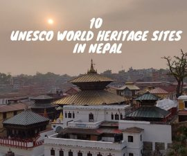 10 UNESCO world heritage sites in Nepal
