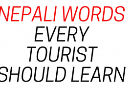 Nepali words every tourist should learn