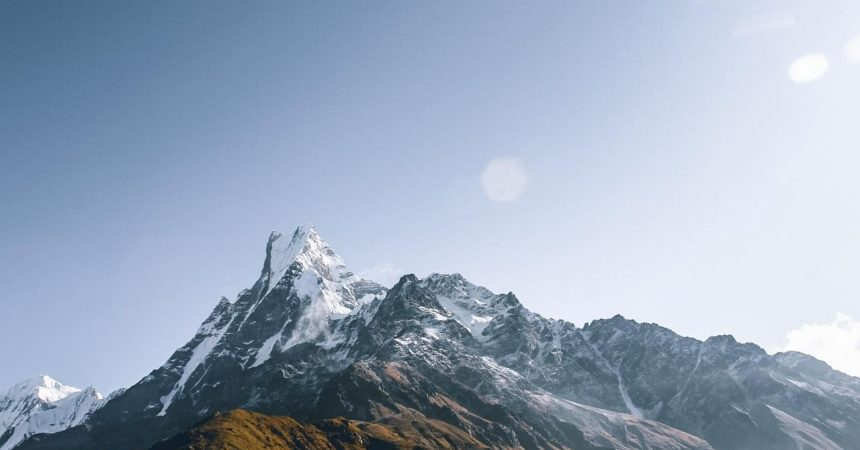 Machhapuchre Captured from Mardi Himal View Point
