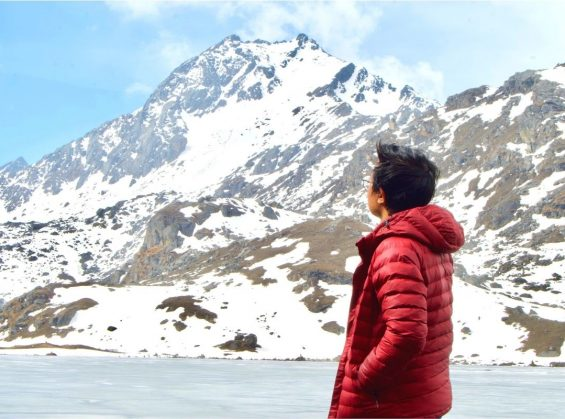 at Gosaikuna Lake
